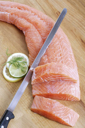 citrons: Salmon fillet