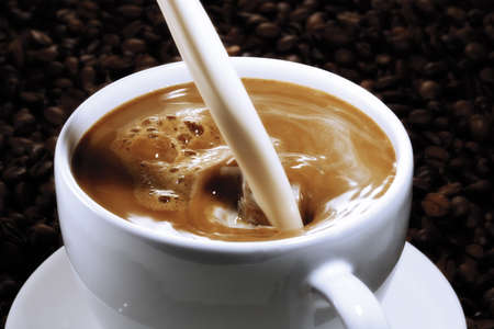 caffee: Coffee with milk