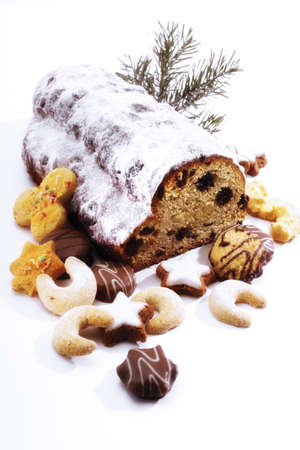 traditon: Christmas stollen and cookies