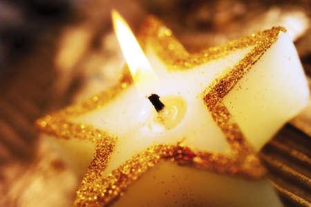traditon: Burning Christmas candle