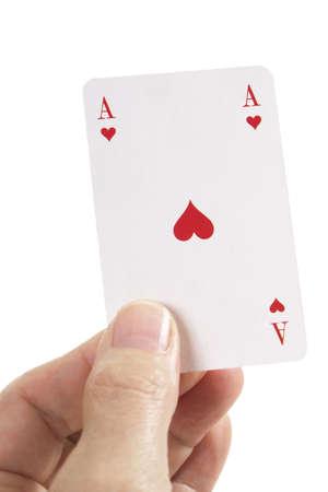 Ace of Hearts Stock Photo - 23674756