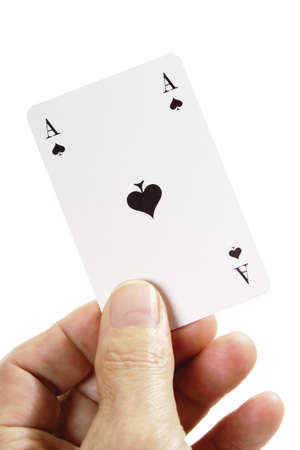 Ace of Spades Stock Photo - 23674757