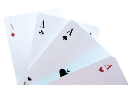Four aces Stock Photo - 23674758