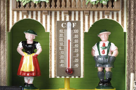 traditon: Outdoor thermometer,close-up