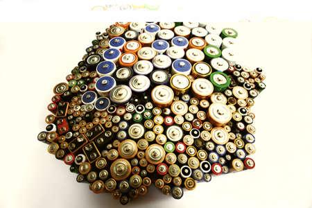 Various batteries Stock Photo - 23707770