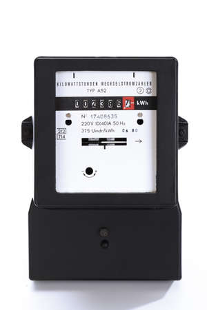energy use: Electricity meter
