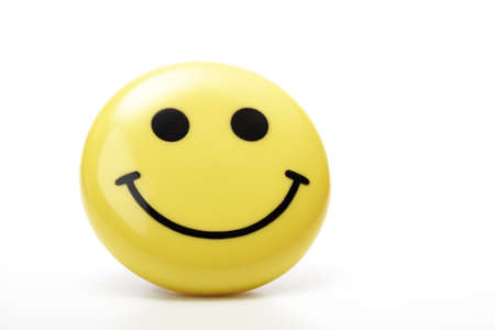 Yellow smiley face Stock Photo - 23674980