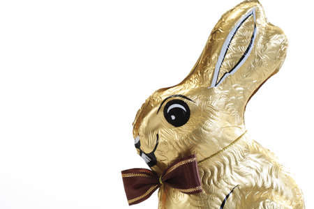traditon: Chocolate bunny, close-up LANG_EVOIMAGES