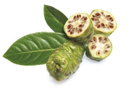 Noni fruits (Morinda Citrifolia) Stock Photo - 23675170