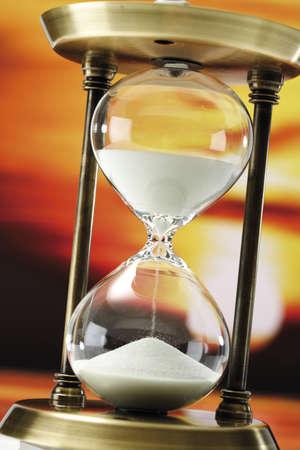 interiour shots: Hour glass, close-up