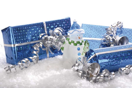 Christmas parcels Stock Photo - 23675228