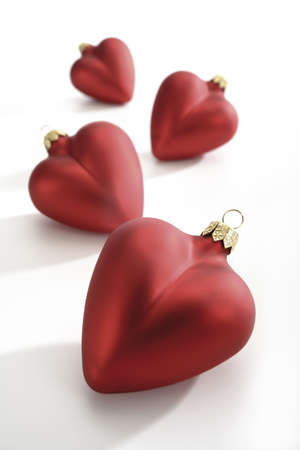 heartshaped: Heart-shaped christmas tree decoration LANG_EVOIMAGES