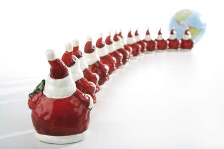 interiour shots: Santa Claus figurines LANG_EVOIMAGES