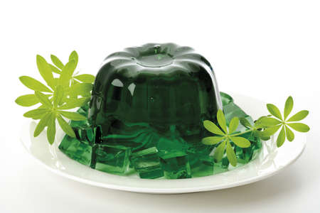 woodruff: Woodruff jelly, close-up