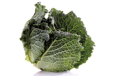 savoy cabbage: Savoy cabbage, close-up LANG_EVOIMAGES