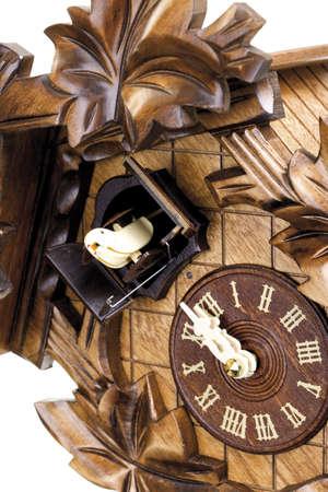 cuckoo clock: Reloj de cuco, detalle