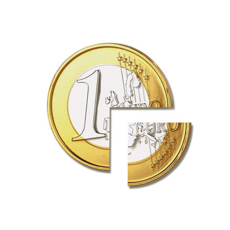 interiour shots: Euro coin, Withholding tax