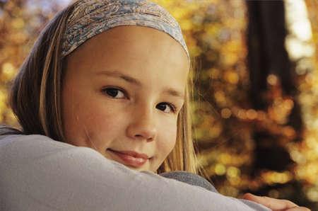 aplomb: Girl smiling, portrait