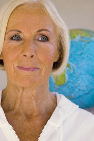 hope indoors luck: Senior woman, close-up, portrait LANG_EVOIMAGES