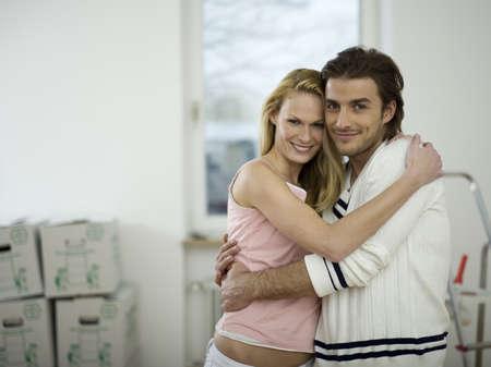 accrued: Couple embracing