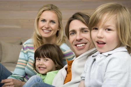 interiour shots: Family portrait