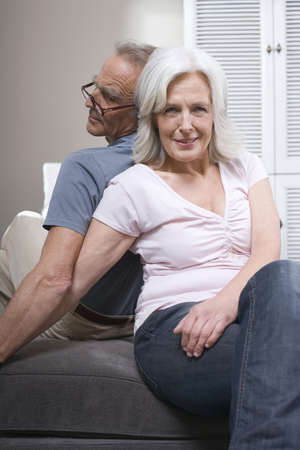 60 64 years: Senior couple, portrait