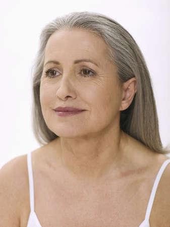 60 65 years: Senior woman, portrait LANG_EVOIMAGES