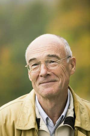 65 70 years: Germany, Baden-Württemberg, Swabian mountains, Senior man, portrait