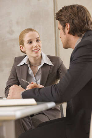 verbal communication: Two business people