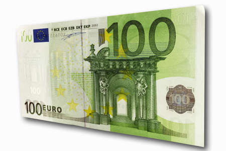 one hundred euro banknote: 100 Euro note front