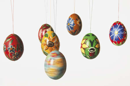 decora: Painted easter eggs