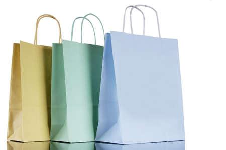 juxtaposing: Shopping bags