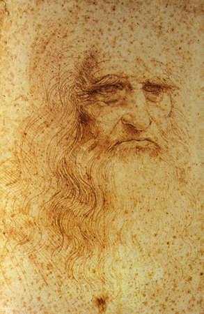 Selfportrait, Leonardo da Vinci LANG_EVOIMAGES