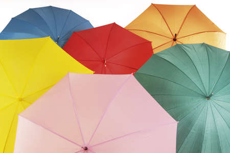 spanned: various umbrellas, close-up LANG_EVOIMAGES