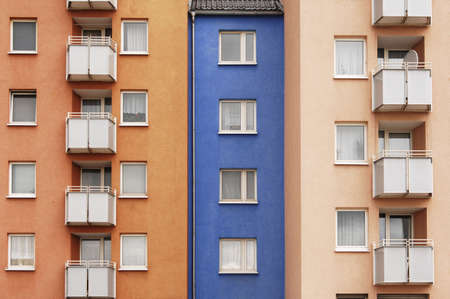 conformance: Housing estate, facade, balconies