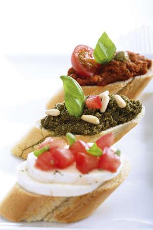 pesto,italian starters