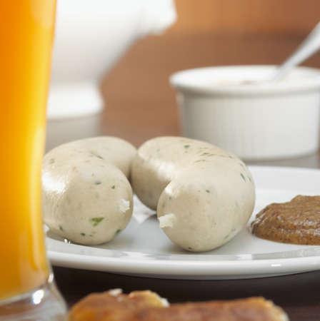 foodstill: Bavarian veal sausage and wheat beer LANG_EVOIMAGES