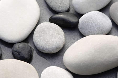 birdeye: Pebbles, close-up, elevated view LANG_EVOIMAGES