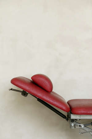 reclining chair: Reclining chair, side view