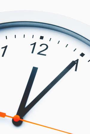 exactitude: Clock face, close-up LANG_EVOIMAGES