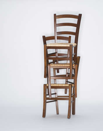 conformance: Stack of chairs, close-up