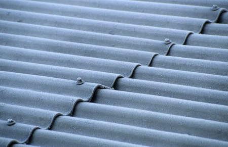 juxtaposing: Corrugated sheet roof