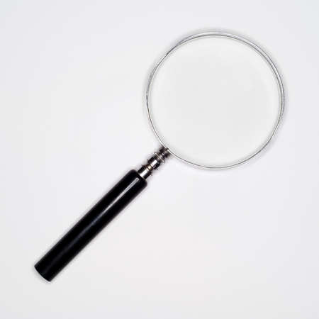 elevated view: Magnifying glass, elevated view