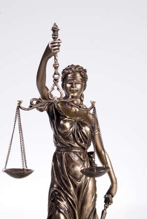 figur: Justitia figur, close-up LANG_EVOIMAGES