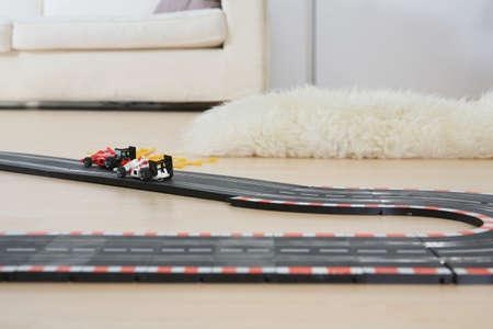 parlour games: Part of toy racetrack LANG_EVOIMAGES