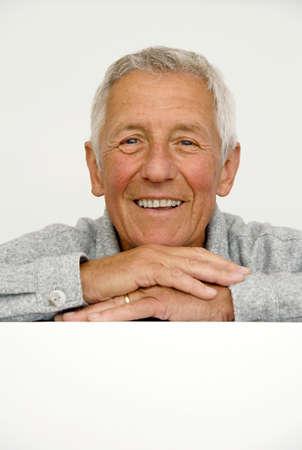 only senior adults: Senior man poratrit LANG_EVOIMAGES