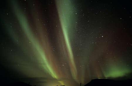 Iceland Reykjanes northern lights
