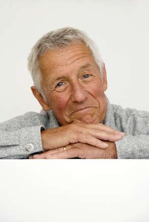 only senior adults: Portrait of a Senior Man LANG_EVOIMAGES