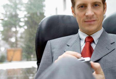 everyday jobs: Portrait of businessman