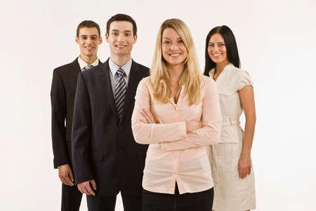 collegue: Business team